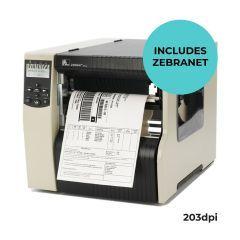 Zebra 220Xi4 Industrial Printer-Zebranet-203 dpi