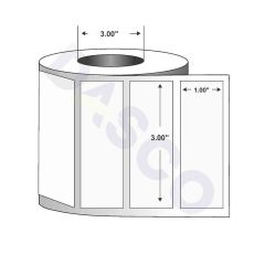 """Direct Thermal Paper Label-3.00""""x1.00""""-White-5500/RL"""
