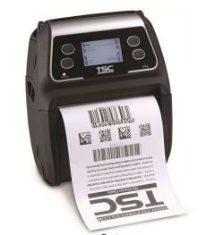 """TSC Alpha-4L DT 4"""" LCD Mobile Printer -203DPI - w/ WiFi, USB"""