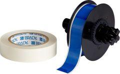 """Polyester ToughStripe Floor Marking Tape for B30 Series-1.125""""x100'-Blue-100'/RL"""