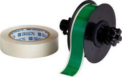 """Polyester ToughStripe Floor Marking Tape for B30 Series-1.125""""x100'-Green-100'/RL"""