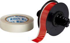 "Polyester ToughStripe Floor Marking Tape for B30 Series-1.125""x100'-Red-100'/RL"