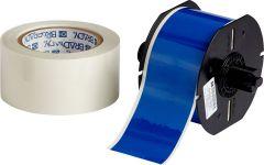 """Polyester ToughStripe Floor Marking Tape for B30 Series-2.25""""x100'-Blue-100'/RL"""
