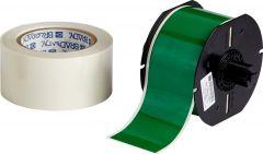 """Polyester ToughStripe Floor Marking Tape for B30 Series-2.25""""x100'-Green-100'/RL"""