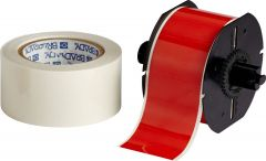 "Polyester ToughStripe Floor Marking Tape for B30 Series-2.25""x100'-Red-100'/RL"