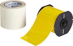 "Polyester ToughStripe Floor Marking Tape for B30 Series-4.00""x100'-Yellow-100'/RL"