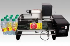 "Dispensa-Matic Bottle-Matic Electric Dispenser/Applicator (10"" Base, 2 Label, Rewinder)"