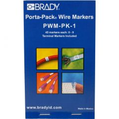 Brady Porta-Pack Wire Marker Refill-0 to 9