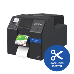 Epson ColorWorks CW-C6000A Color Inkjet Printer - 1200 dpi - Auto-Cutter