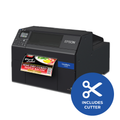 Epson ColorWorks CW-C6500A Inkjet Label Pritner - 1200dpi - Auto Cutter