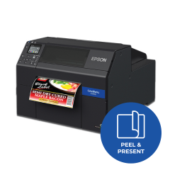 Epson ColorWorks CW-C6500P Inkjet Label Pritner - 1200dpi - Peel and Present