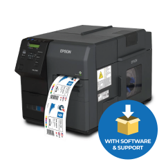 Epson Colorworks C7500GE Inkjet Label Printer - 600 dpi - Graphics Edition