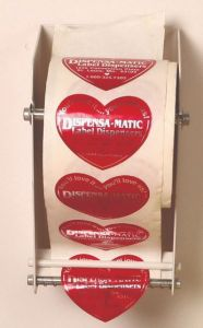 "Dispensa-Matic DML Manual Label Dispenser (4.5"" Width Label)"