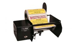 "Dispensa-Matic DM-II Wide Format Electric Dispenser 10"" Photo Detector (8"" Label Rolls)"