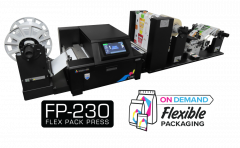 Afinia FP-230 printing Flexible Packaging on Demand