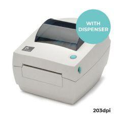 Zebra GC420t Desktop Printer - 203 dpi - Thermal Transfer - Dispenser