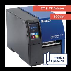 Brady i7100 Industrial Printer Peel Model - 600 dpi