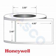 "Paper Label-Direct Thermal-2.40""x4.00""-White-1454/RL 4/CS"