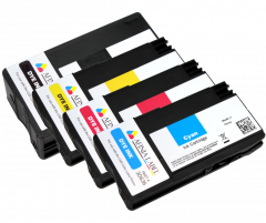 CMYK Dye Ink Cartridges for the Afinia L501 L502 Printer
