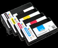 Afinia L502 4 Pack CMYK Pigment Ink