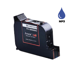 Anser NP3 Blue Ink Cartridge (42ml) Solvent Based