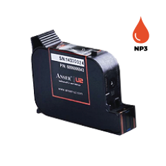 Anser NP3 Red Ink Cartridge (42ml) Solvent Based