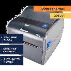 Honeywell PC43d DT Desktop Printer - RTC- 203 dpi
