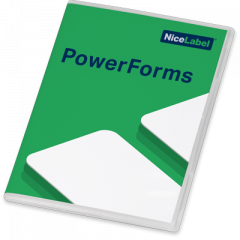 NiceLabel Powerforms 2019 Software - Single User