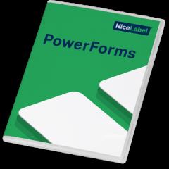 NiceLabel Powerforms 2019 Software - Single User