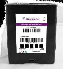 QL-850 Black Ink Cartridge 250 ml, Black