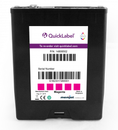 QL-850 Magenta Ink Cartridge 250 ml, Magenta