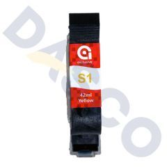 Anser S1 Yellow Ink Cartridge (42ml) Solvent Based