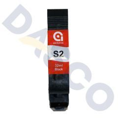 Anser S2 Black Ink Cartridge (32ml) Solvent Based