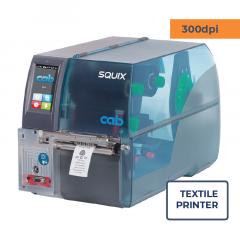 Cab Squix 4 / 300 MT Printer - 300 dpi - Center Aligned - Textile Printer