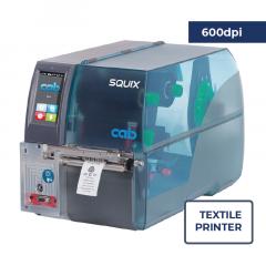 Cab Squix 4 / 600 MT Printer - 600 dpi - Center Aligned - Textile Printer