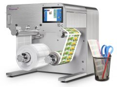 Trojanlabel T2-C Tabletop Color Label Press