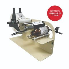 "Take-A-Label TAL-1100MR Manual Round Product Label Applicator with 7"" option"