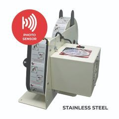 Take-A-Label TAL-250 Stainless Steel Electric Label Dispenser with photo sensor