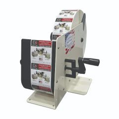 Take-A-Label TAL-450M Hand Crank Manual Label Dispenser