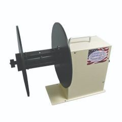 "Take-A-Label TAL-610R Electric Table Top Rewinder with 6"" web-12 Roll O.D."