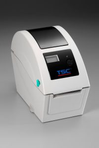 TSC TDP-225 Desktop DT Printer - Beige - 203dpi - w/ LCD/USB/Ethernet
