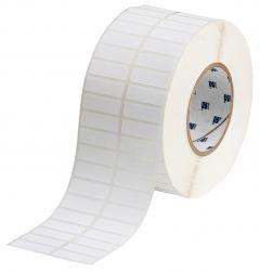 "Polyester ToughBond Label-1.50""x0.50""-White-10000/RL"