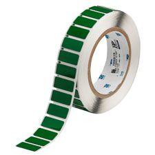 "Polyester Raised Panel Label-1.06""x0.49""-Green-500/RL"