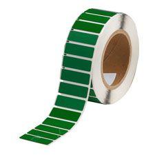 "Polyester Raised Panel Label-1.77""x0.59""-Green-500/RL"