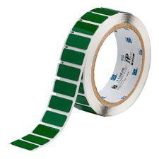 "Polyester Raised Panel Label-1.06""x0.49""-Green-250/RL"