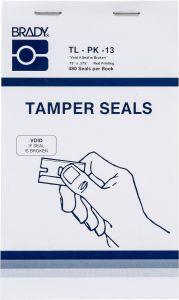 """Tamper Evident Defender Void If Seal Is Broken Label-0.75""""x0.375""""-White-480/BK"""