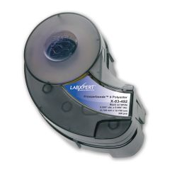 "Polyester FreezerBondz Circle Label for IDXPERT/LABXPERT-0.50""-White-300/CT"