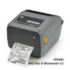 Zebra ZD420 Desktop Printer - 203 dpi - Thermal Transfer - Ribbon Cartridge - 802.11ac and Bluetooth 4.1 Connectivity