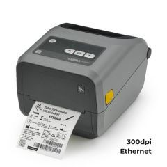 Zebra ZD420 Desktop Printer - 300 dpi - Thermal Transfer - Ribbon Cartridge - Ethernet Connectivity