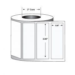 "Paper Label-3.00""x1.00""-White-5500/RL 6/CS"